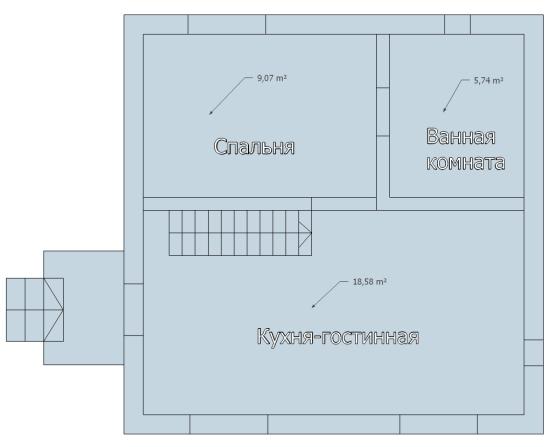 Схема 1 этаж