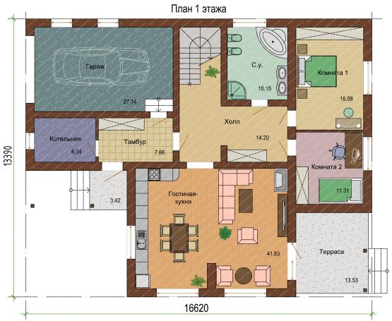 План 1 этажа-1