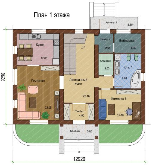 План 1 этажа-1-1