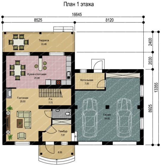 План 1 этажа-1 - копия