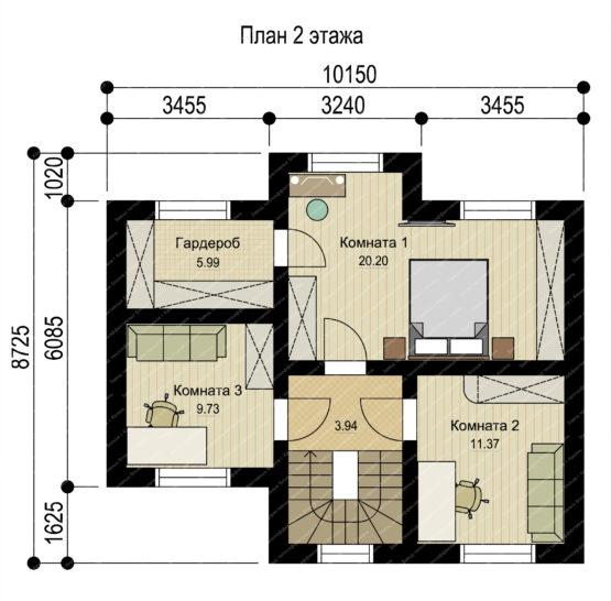 План 2 этажа-1 - копия